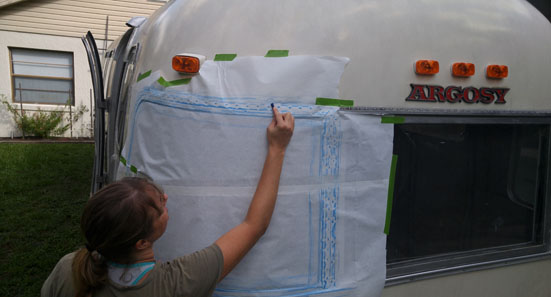 airstream window rock guards