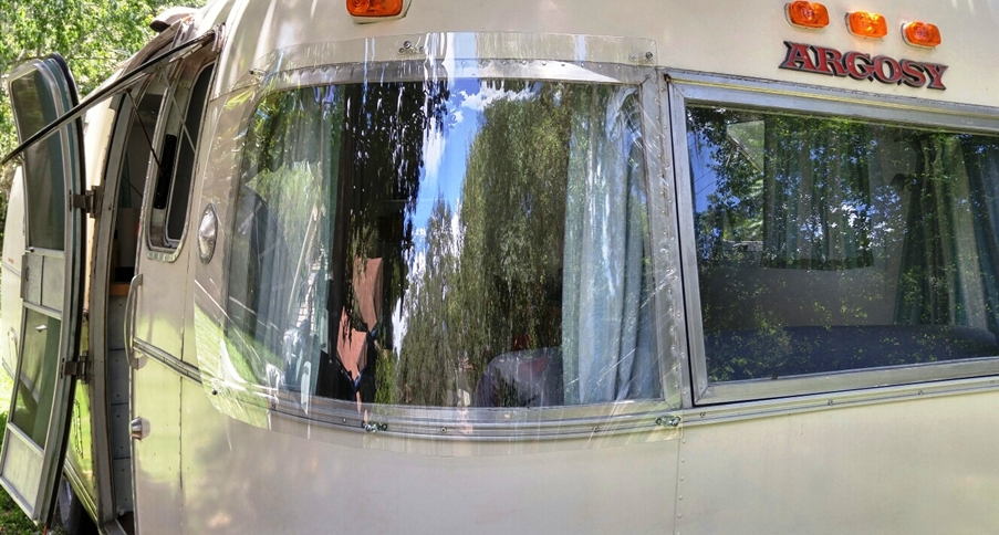 airstream window guards