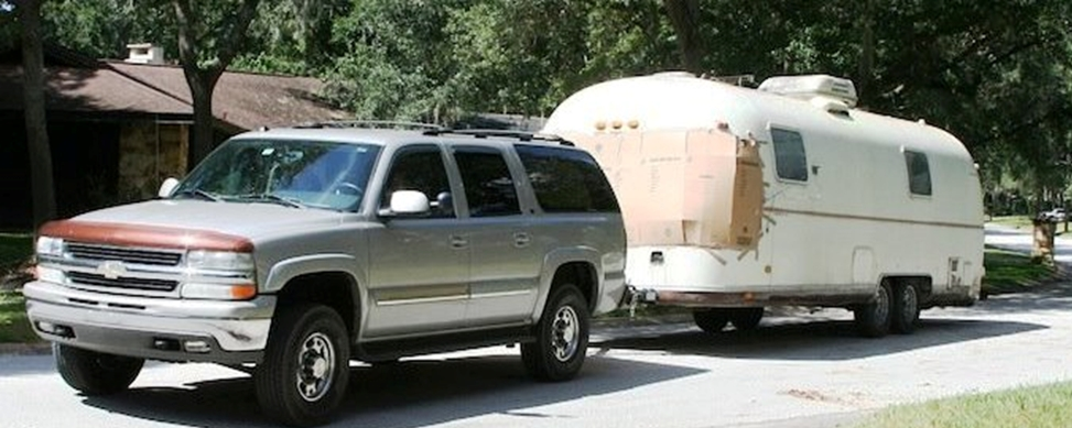 towing airstream road